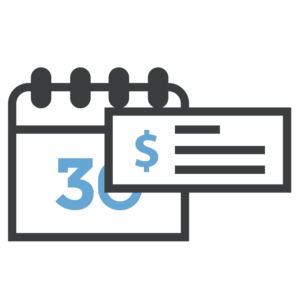 illustration of flat rate price for medical office virtual front desk
